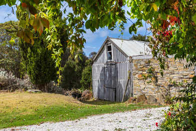 Hawley House woolshed