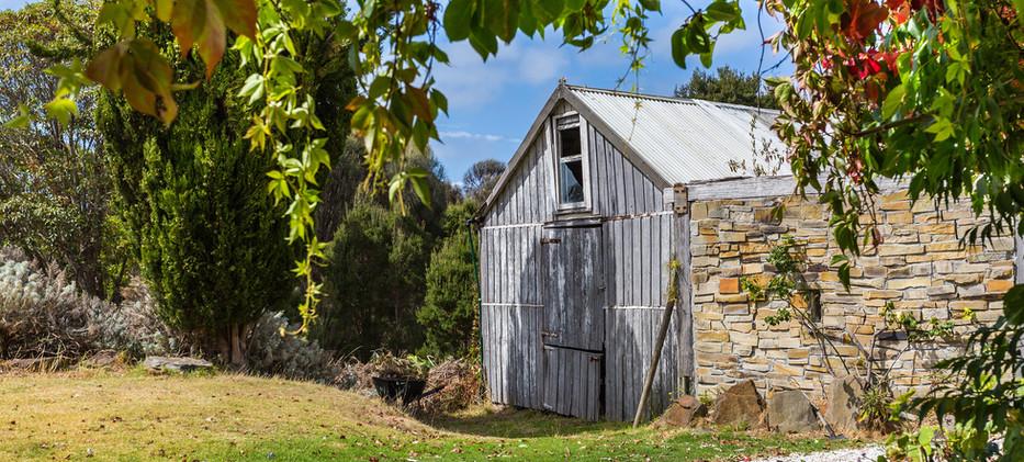 shearing shed tasmania