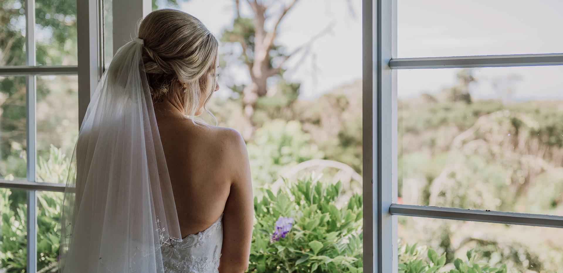 Bride at Hawley House