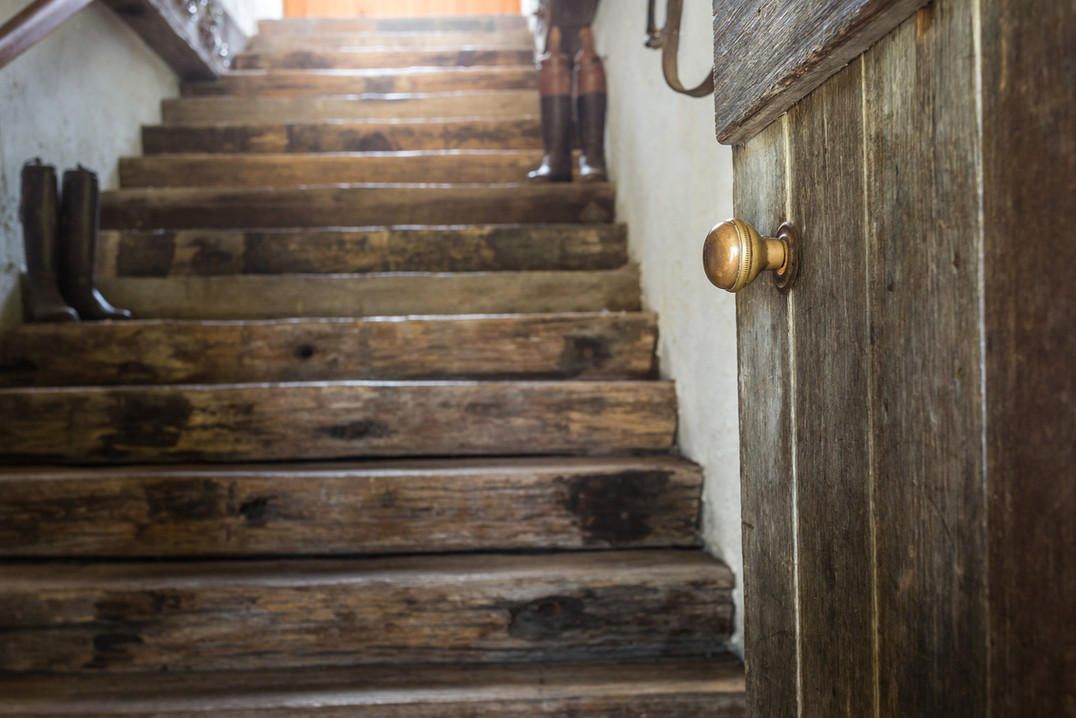 Staircase in Hawley Stables