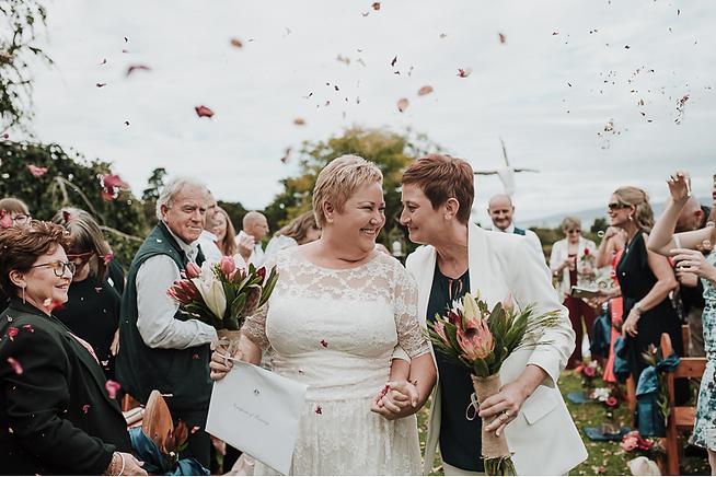 Hawley House gay wedding reception Venue in Tasmania