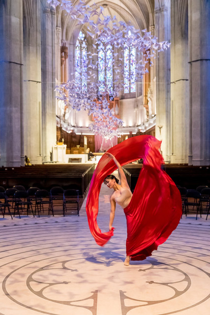 SF Movement Art Festival at Grace Cathedral with eMotion Arts
