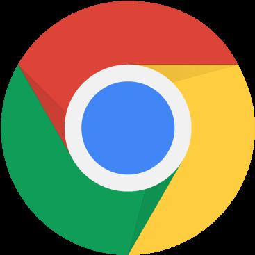Circular Google Chrome Logo