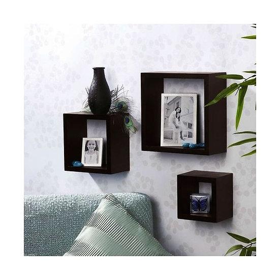 Modern Decor Shelf Black