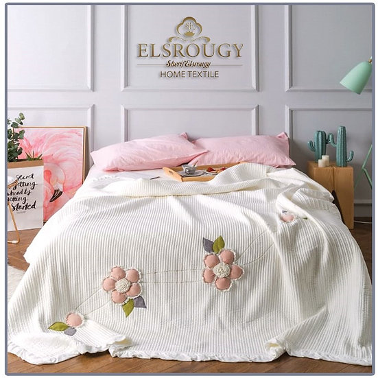 El Srougy Home Textile Coverlet bed set 3pcs