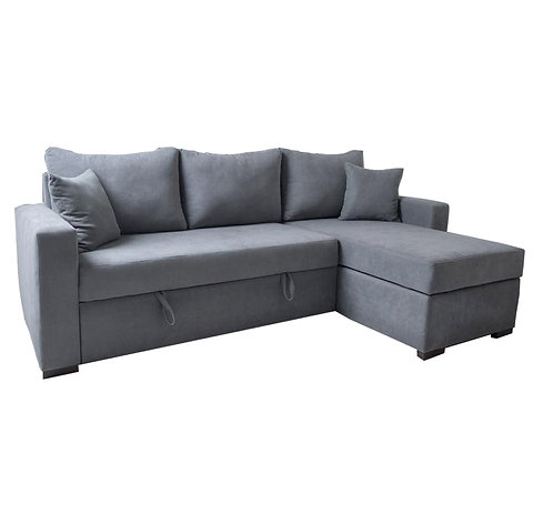 Brenda Sectional Sofa-bed with Storage