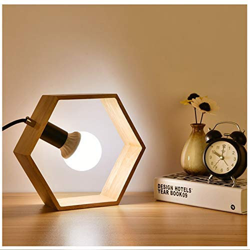 Creative simple table lamp Hexagon