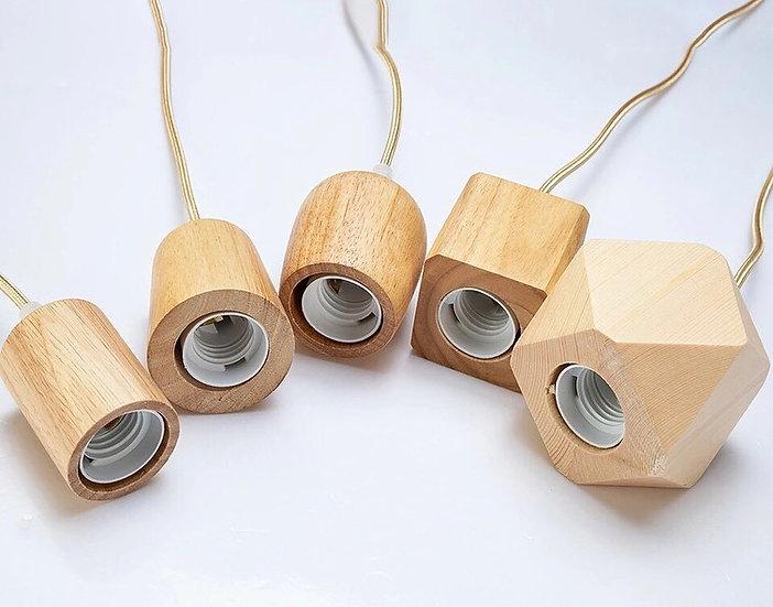 Decorative Wooden Pendant Lights