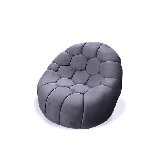 Pivoting Armchair Gray