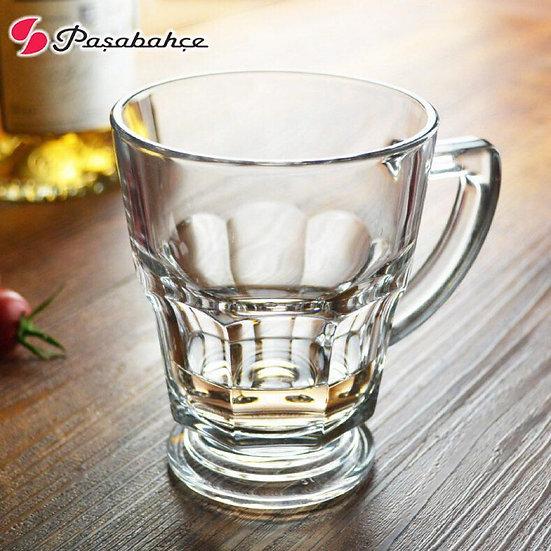 Pasabahce Set Of 6 Pieces Casablanca Mugs, Clear