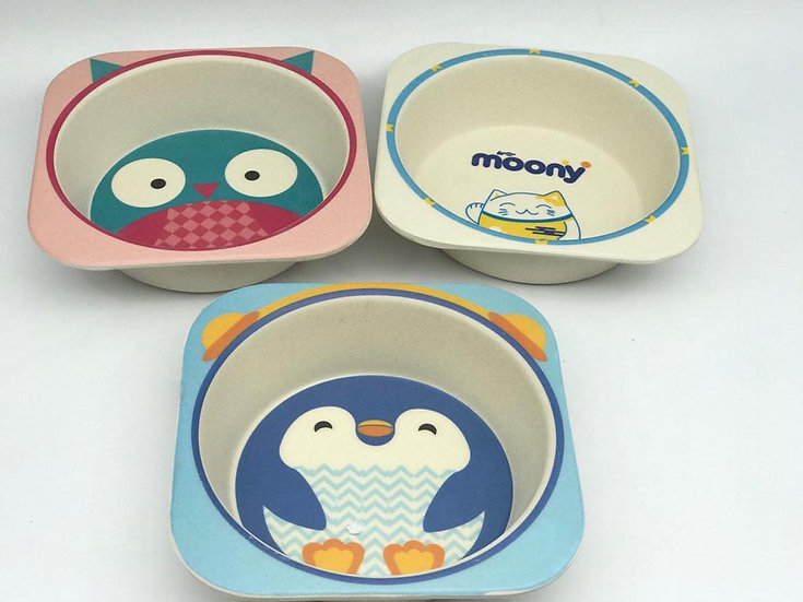 3 Plates for kids