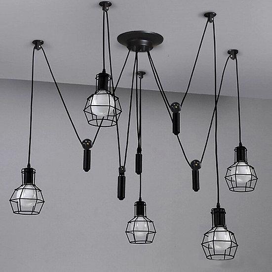 Vintage Spider Pendant Lights luminaire lamp
