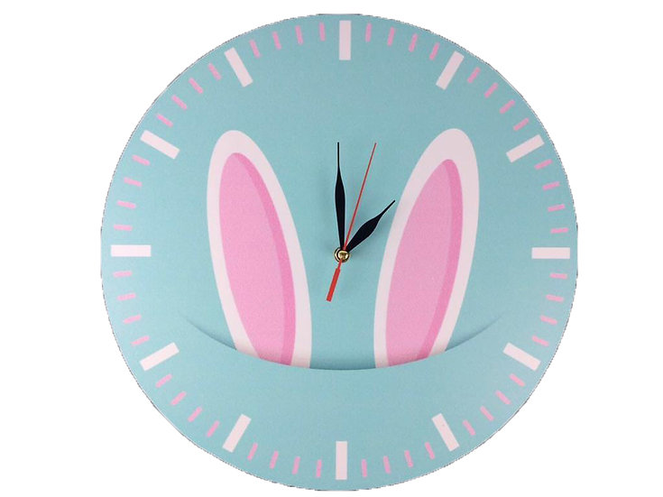 Funny bunny Wall Clock for Kids