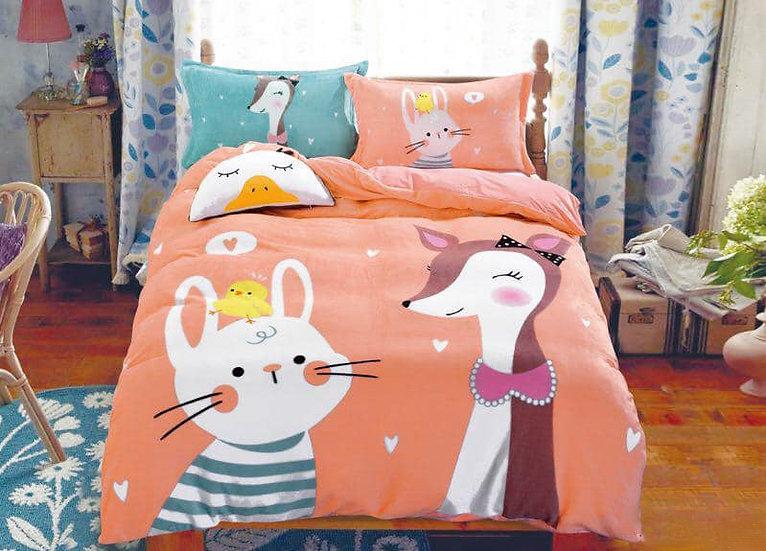 Friendship Quilt Velvet Bedding