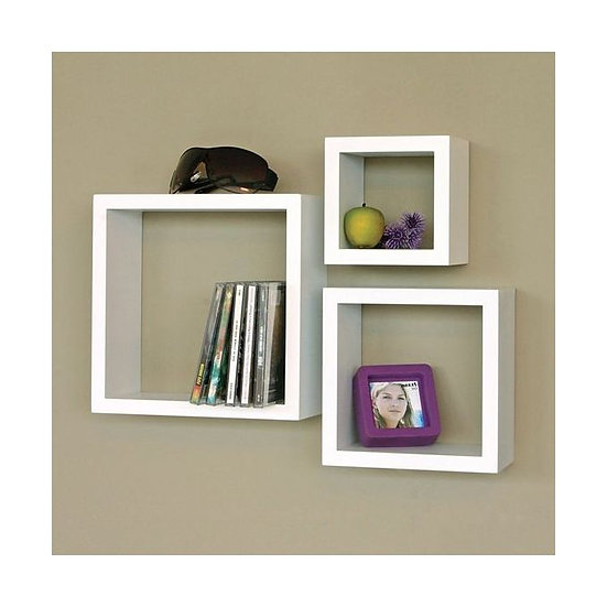 Modern Decor Shelf White