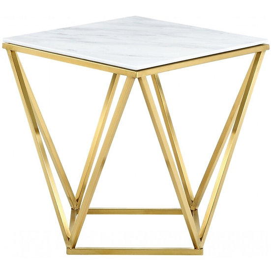 Geometric table side