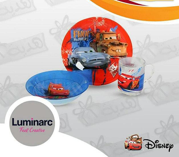 Luminarc Kids Serveware Set - 3 Pieces - Car