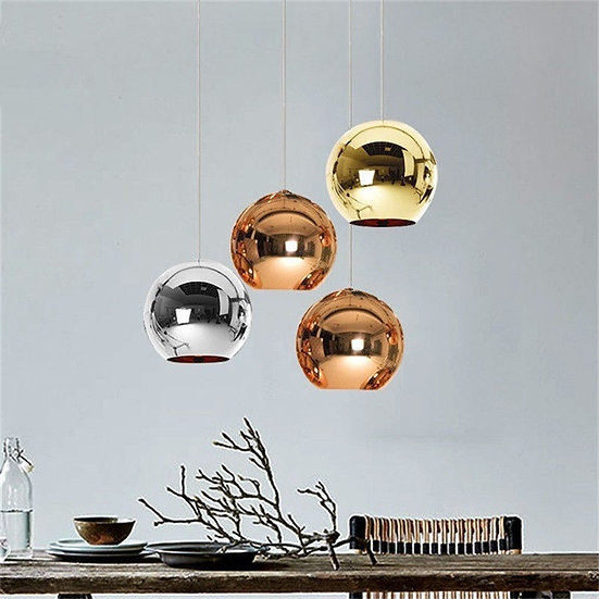 Circular Glass Pendant light 20 cm
