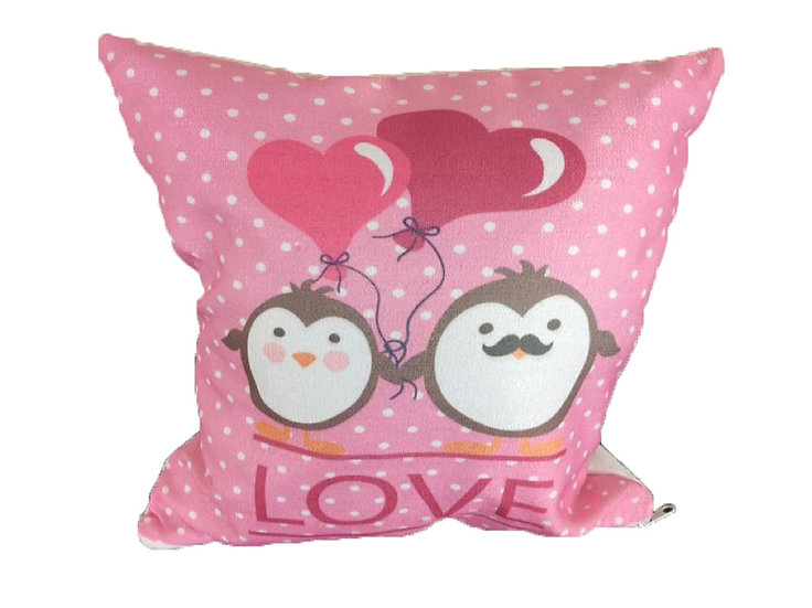 LOVE cushion cover Cotton Linen Square Cushion Covers