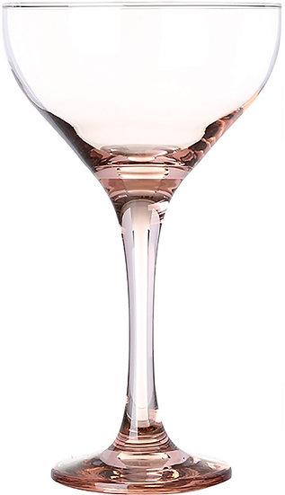 Pasabahce Frey Saucer Goblet, 6 Pieces - Pink