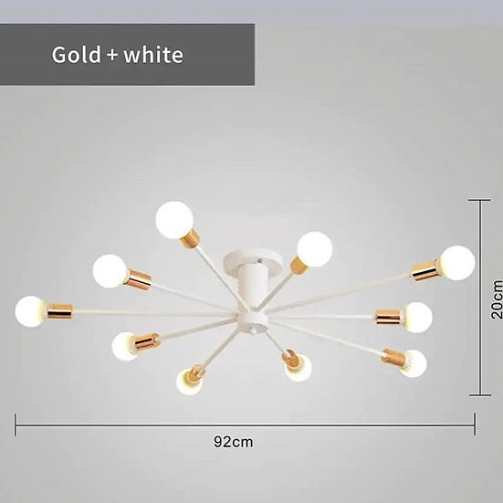 Chander Lights Vintag LED 10 arms