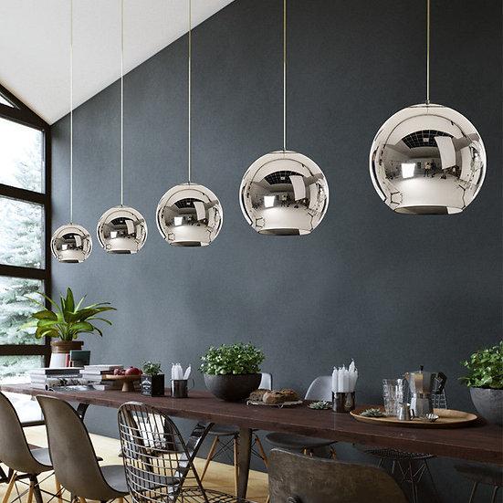 Circular Glass Pendant light 30 cm