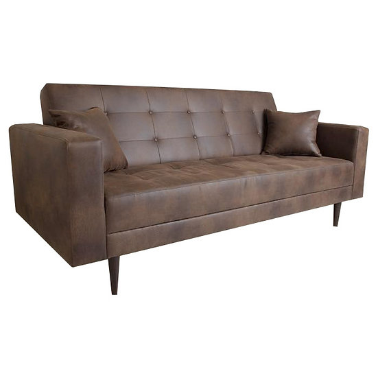 Tigan Leather Sofa-bed