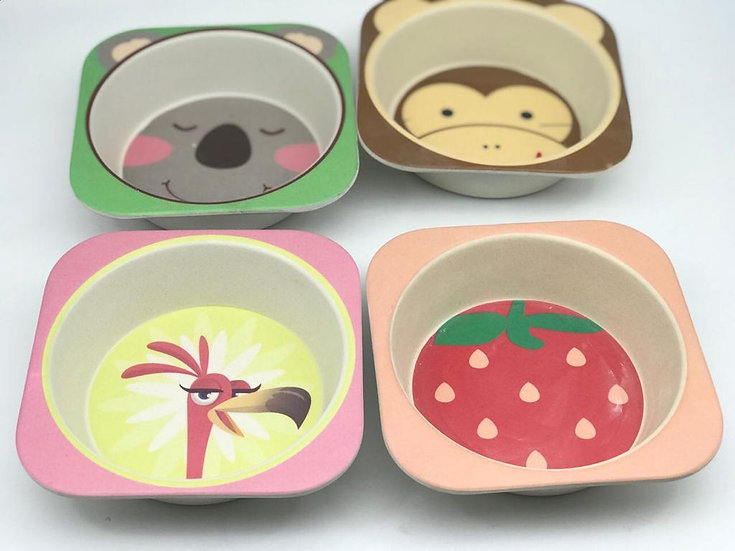 4 Plates for kids