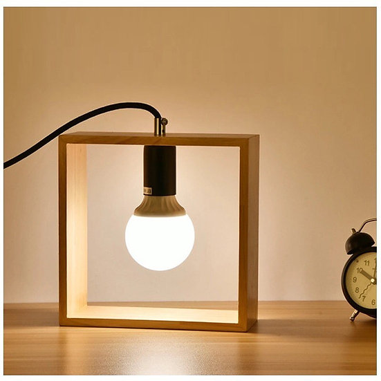 Creative simple table lamp Square