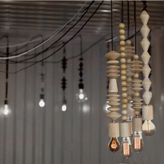 Wood Pendant Lamps