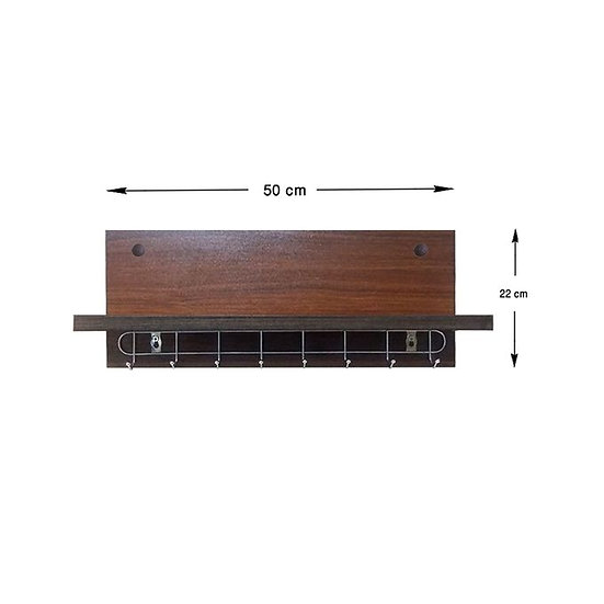 Modern Spice Shelf - Shelf - Shelves - Brown 50 X 22 Cm