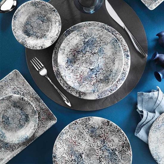 Kütahya Porselen Teos 24 Parça Yemek Takımı Nano 1007