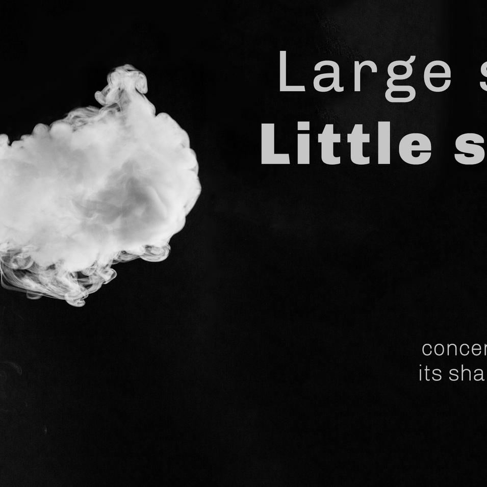 Large smoke cloud, little sperm count.