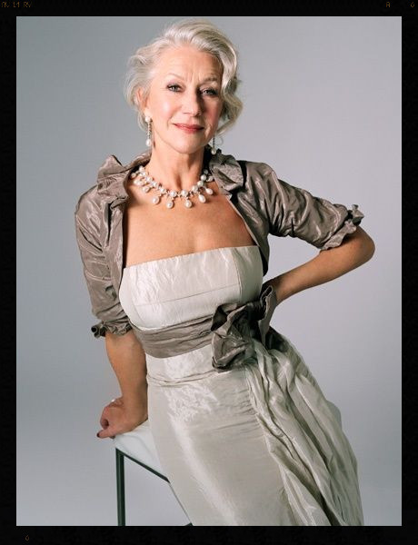 Jewelry and Fashion from Helen Mirren