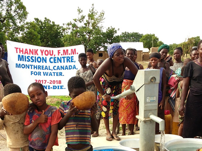 Ghana - Forage de puits