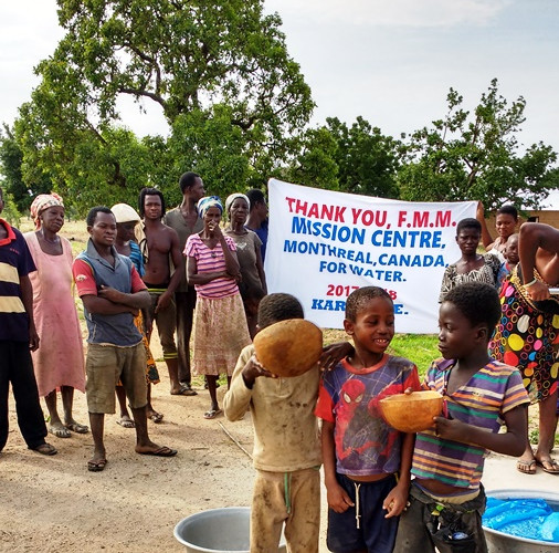Ghana - Drilling wells
