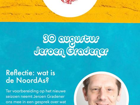30 augustus: Jeroen Gradener, docent Hogeschool van Amsterdam