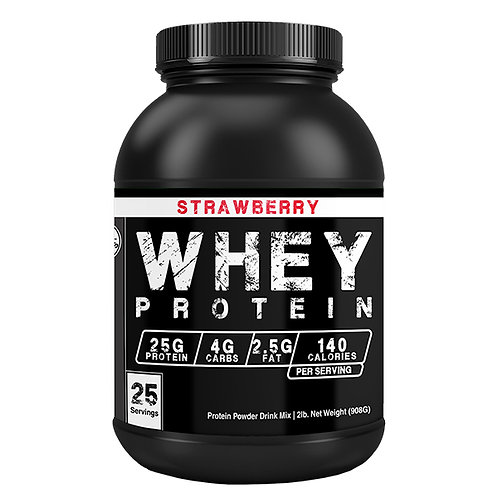Whey Protein Concentrate - Strawberry