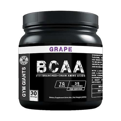 BCAA (Branched-Chain Amino Acids) - Grape