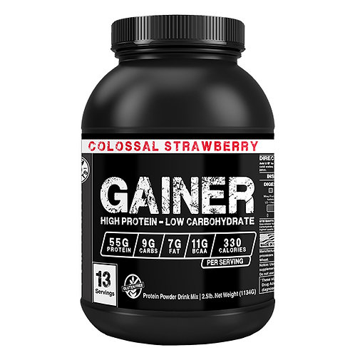Gainer Protein Blend - Colossal Strawberry