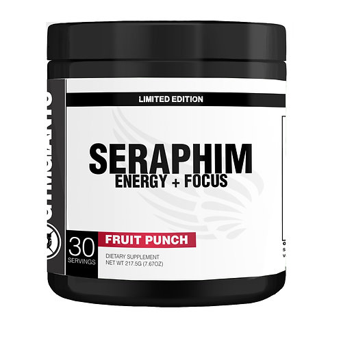 Seraphim Energy + Focus - Fruit Punch