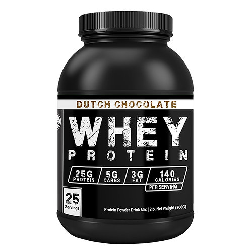 Whey Protein Concentrate - Dutch Chocolate