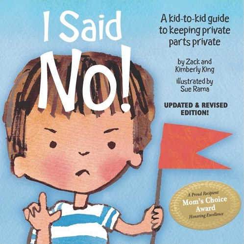 I Said No! Book