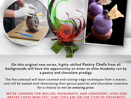 The Untitled Pastry + Chocolate Project - Apply Now!