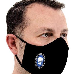 Black Adjustable Facemask in Black