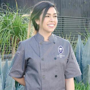Ladies Short Sleeve Chef Coat NC-1001LNB-SS