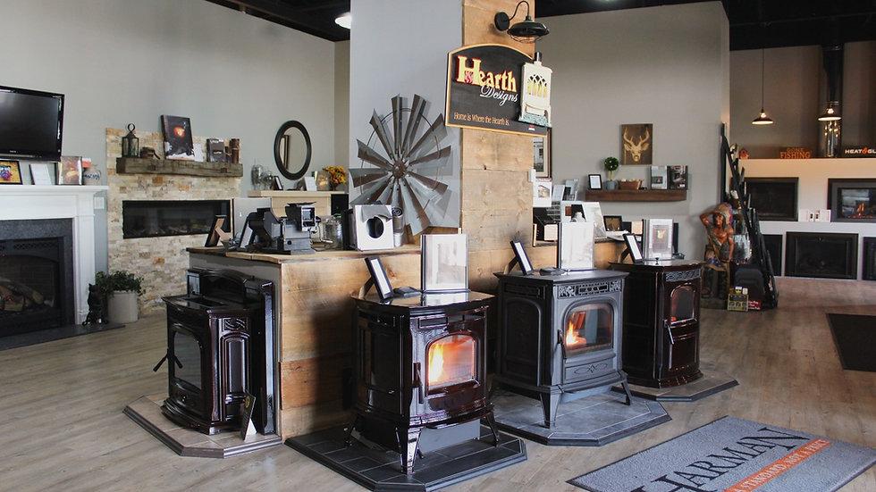 Hearth Designs LLC showroom