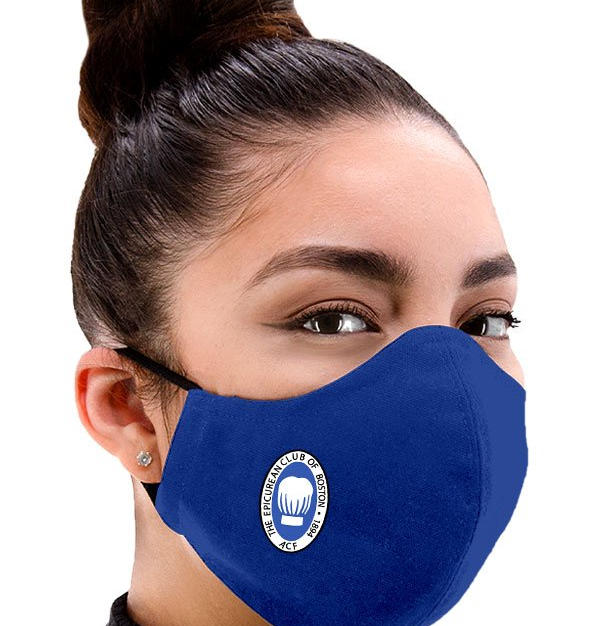 Royal Adjustable Facemask in Royal Blue