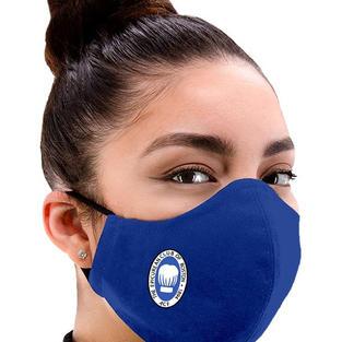 Royal Adjustable Facemask in Royal Blue