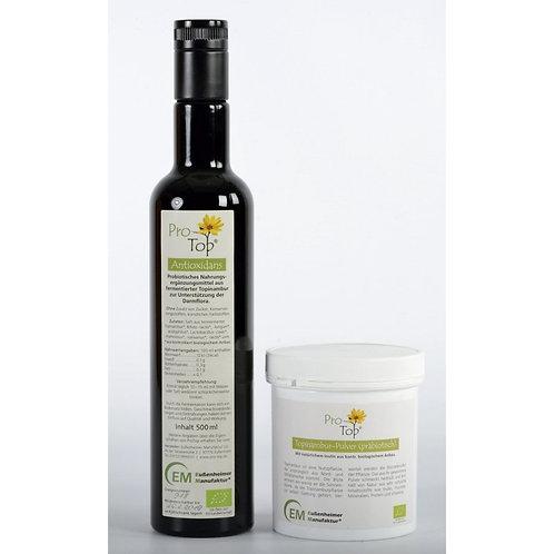 DarmPaket 1 (Antioxidans + Topinambur-Pulver), bio
